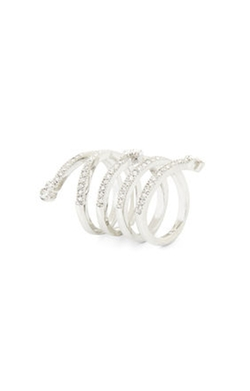 Bcbgmaxazria - Pave Looped Ring