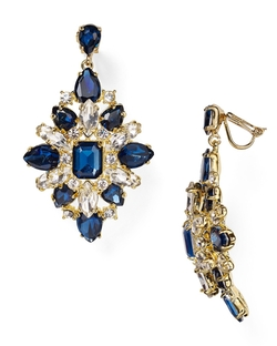 Carolee - Embellished Clip-On Earrings