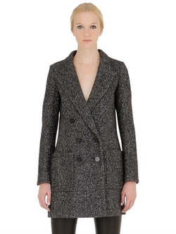 Paltò - Wool Blend Boucle Coat