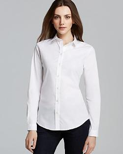 Burberry Brit  - Basic Button Down Blouse