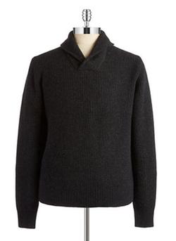Michael Kors  - Shawl Collar Knit Sweater