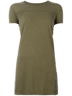 Rick Owens DRKSHDW   - Geo Long T-Shirt