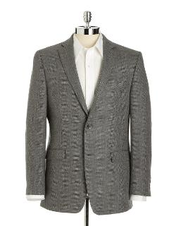 Black Brown 1826  - Slim-fit Wool Tweed Sport Coat