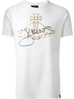 Vivienne Westwood Anglomania - Logo Print T-Shirt