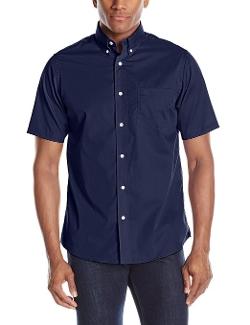 Dockers - Short Sleeve Solid Woven Shirt