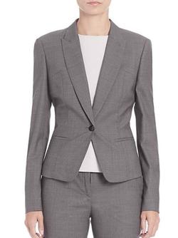 Boss - Janeka Stretch-Wool Jacket