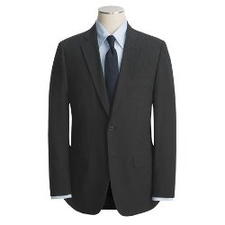 John Varvatos Star USA  - Cotton Sport Coat - Beaded Mini-Stripe