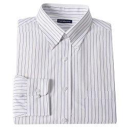 Croft & Barrow - Classic-Fit Striped Dress Shirt - Men