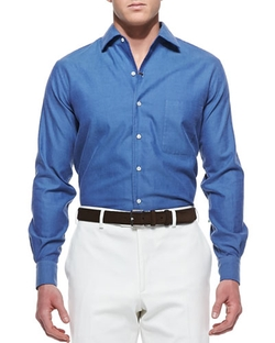 Loro Piana - Andre Ginestra Button-Down Shirt