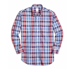 Brooks Brothers - Large Plaid Sport Shirt