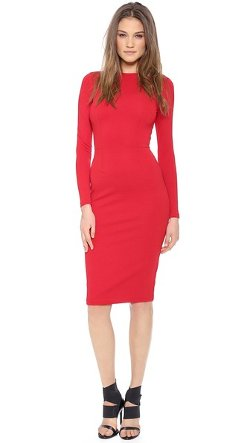 5th & Mercer  - Long Sleeve Dress