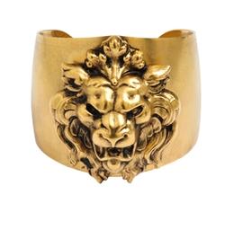 Ela Stone  - Lion Cuff Bracelet