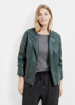 Mango - Pebbled Biker Jacket