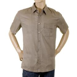 Armani Jeans  - Dark Taupe Shirt