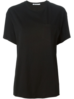 T By Alexander Wang   - Chest Pocket T-Shirt