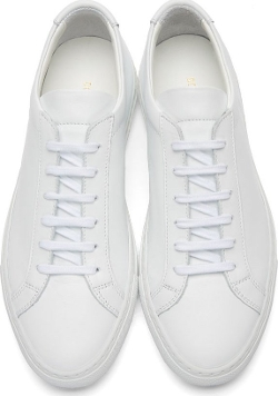 Common Projects - Leather Original Achilles Sneakers