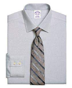 Brooks Brothers - Non-Iron Regular Fit Royal Oxford Dress Shirt