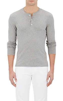 Ralph Lauren Purple Label - Jersey Henley Shirt