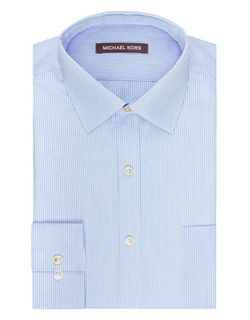 Michael Kors  - Regular Fit Pinstripe Dress Shirt