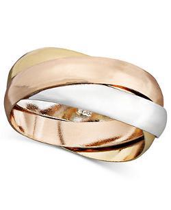 Giani Bernini  - Tri Tone Ring