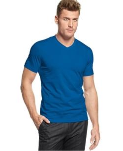 Alfani  - Slim Fitted V-Neck T-Shirt