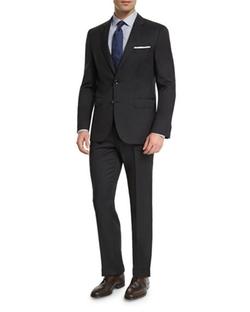 Boss Hugo Boss - Johnstons Lennon Tonal-Grid Basic Suit