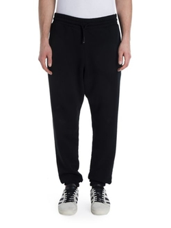 Off-White  - Solid Cotton Jogger Pants
