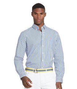 Polo Ralph Lauren - Striped Poplin Shirt