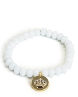 Juicy Couture - Crown Coin Beaded Bracelet