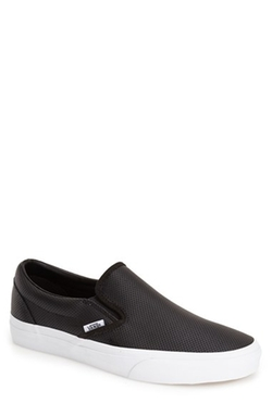 Vans - Classic Perforated Slip-On Sneakers