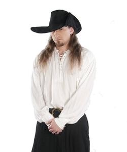 Dress Like A Pirate  - Renaissance Button Cuff Shirt