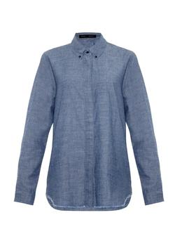 Proenza Schouler - Point-Collar Chambray Shirt