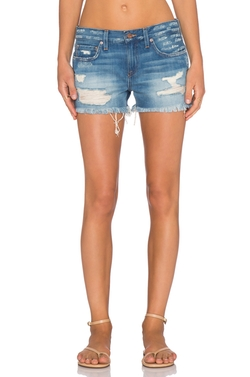 Genetic Los Angeles - Denim Stevie Cut Off Shorts