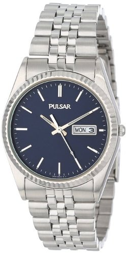 Pulsar - Dress Silver-Tone Stainless Steel Watch