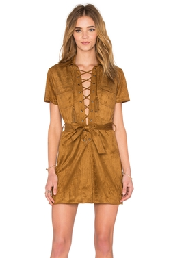 Capulet - Lace Up Dress