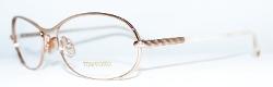 Tom Ford - Oval Optical Frame Glasses