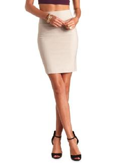 Charlotte Russe - BODYCON PENCIL SKIRT