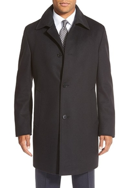 Boss - Wool & Cashmere Overcoat