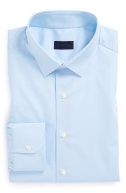 Lanvin - Fitted Blue Dress Shirt