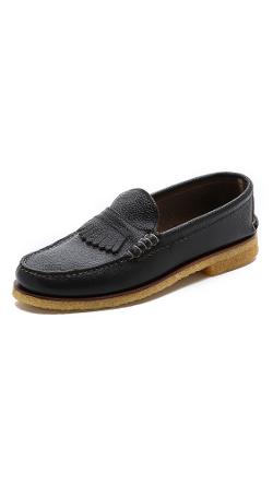 Quoddy  - Kiltie Crepe Loafer Shoes