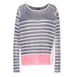Splendid - Striped Linen Sweater