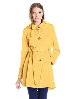 Steve Madden - Hooded Trench Coat