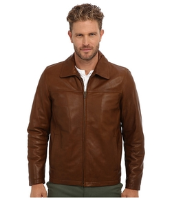 Vince Camuto - Cowskin Shirt Collar Jacket