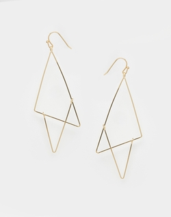 Asos Collection - Open Shapes Earrings