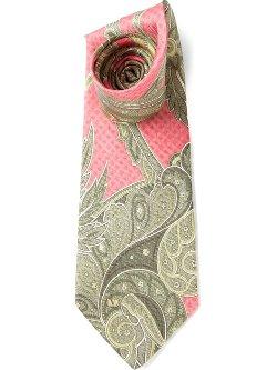 Valentino Vintage  - Paisley Print Tie