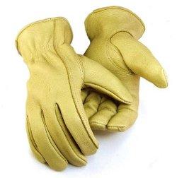 Northstar  - Womens Tan Deerskin Gloves