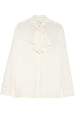 Iris And Ink - Silk Crepe De Chine Blouse