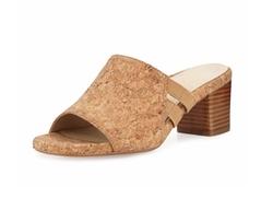Taryn Rose  - Rimba Cork Chunky-Heel Sandals