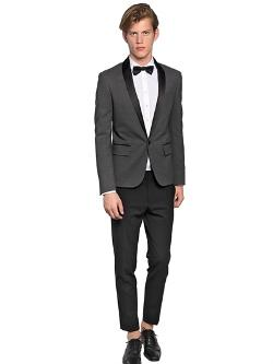 DSQUARED  - TOKYO STRETCH WOOL TUXEDO SUIT