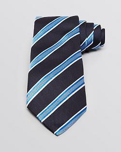 Armani Collezioni  - Twill Stripe Classic Tie